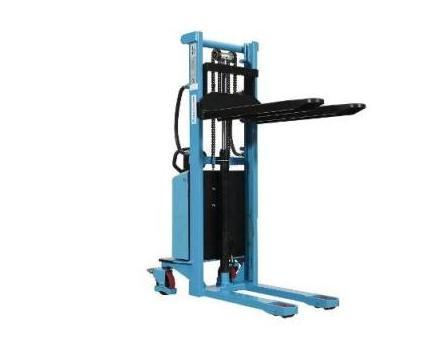 Semi Elektrische palletstapelaar 1000kg 1 6m | DKMTools - DKM Tools