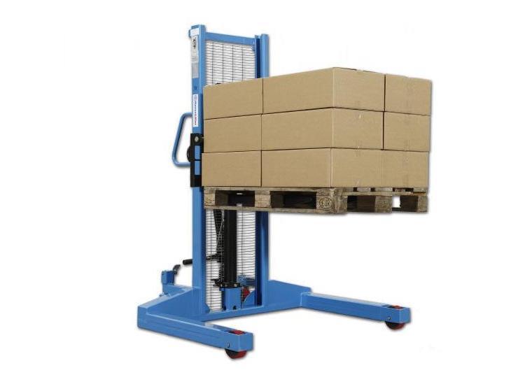 Breedspoorstapelaar 1000kg 1 6m | DKMTools - DKM Tools