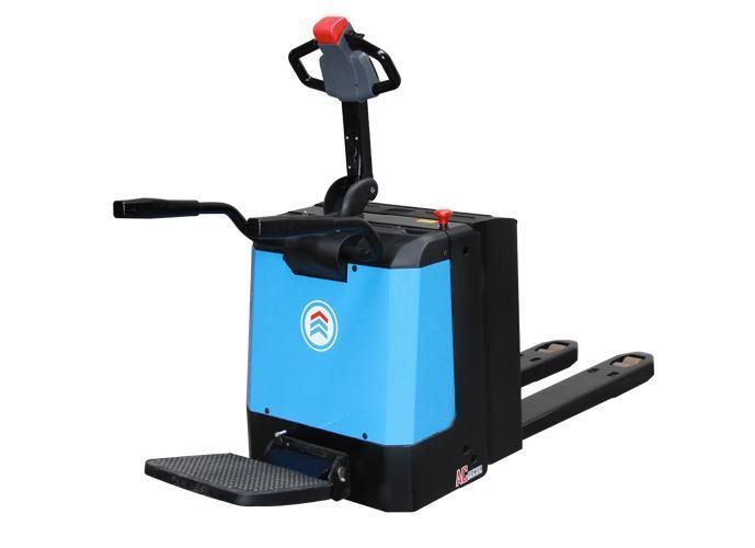 Elektrische palletwagen E20PL AC met staplatform   DKMTools - DKM Tools