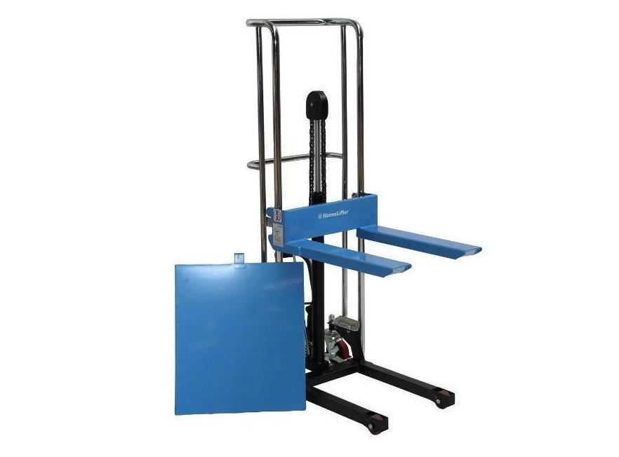 Hoogstapelaar met platform 400kg 1 2mtr | DKMTools - DKM Tools