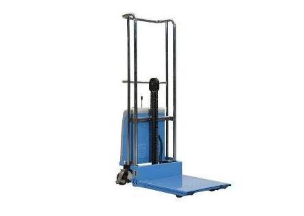 Semi elektrische Mini Stapelaar 400kg 1 5m | DKMTools - DKM Tools