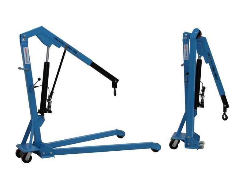 Werkplaatskraan neerklapbaar Hansalifter | DKMTools - DKM Tools