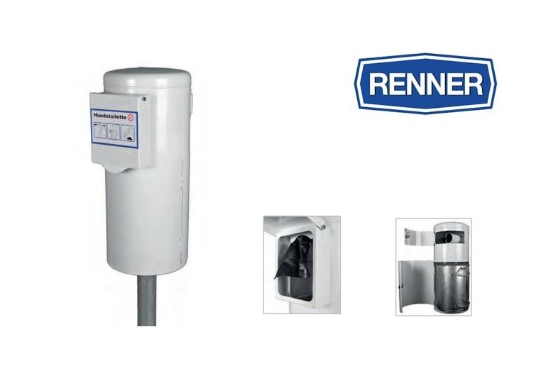 Honden toilet met geintegreerde zak dispenser | DKMTools - DKM Tools