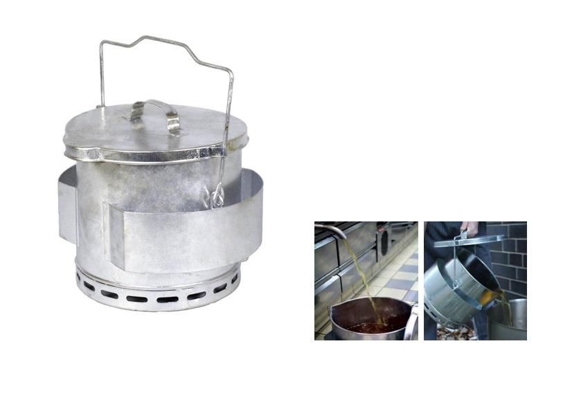 Frituurvet opvangemmer | DKMTools - DKM Tools