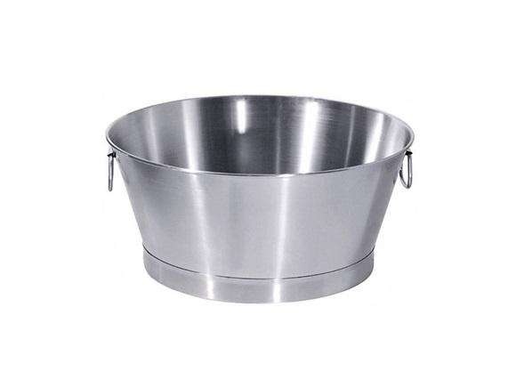 Ovale Roestvrij stalen emmer | DKMTools - DKM Tools