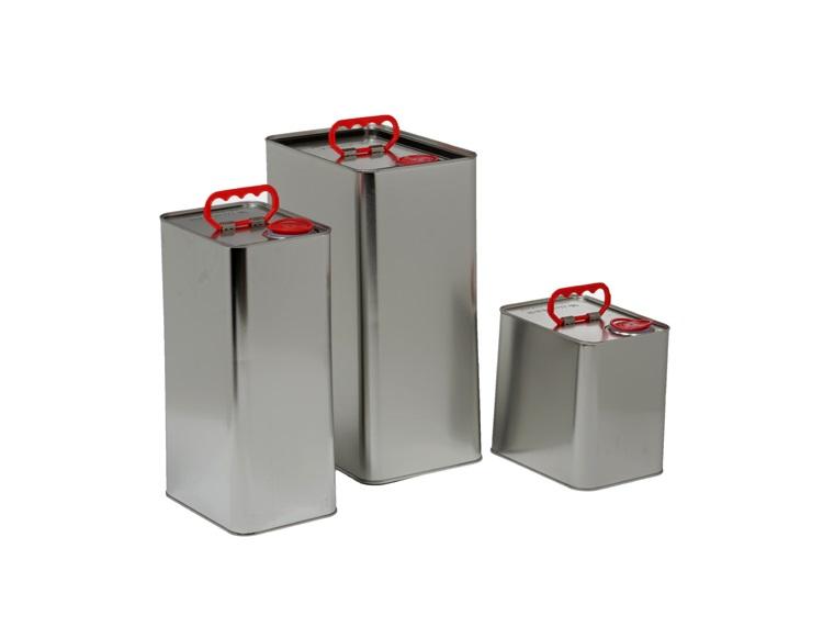 Blikken met plastic handvat en plastic sluiting | DKMTools - DKM Tools