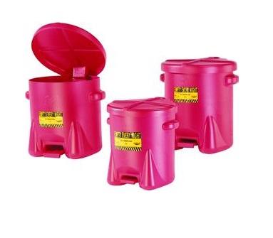 Veiligheidsafvalbakken PE | DKMTools - DKM Tools