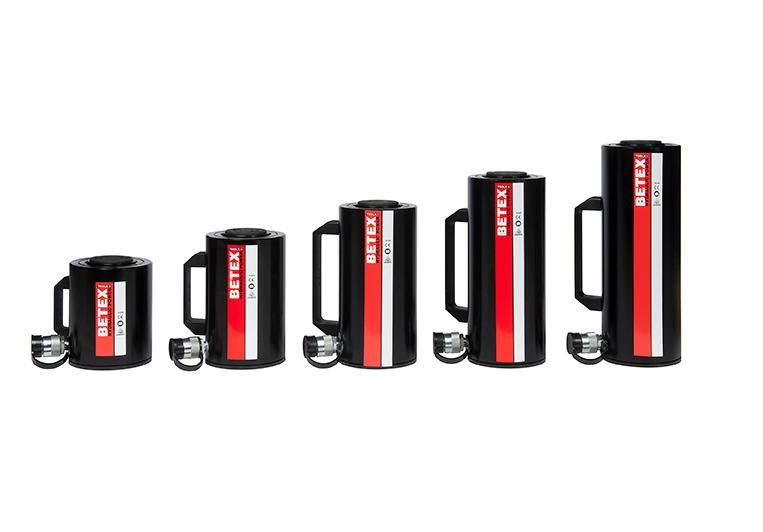 Aluminium cilinders enkelwerkend SSA   DKMTools - DKM Tools