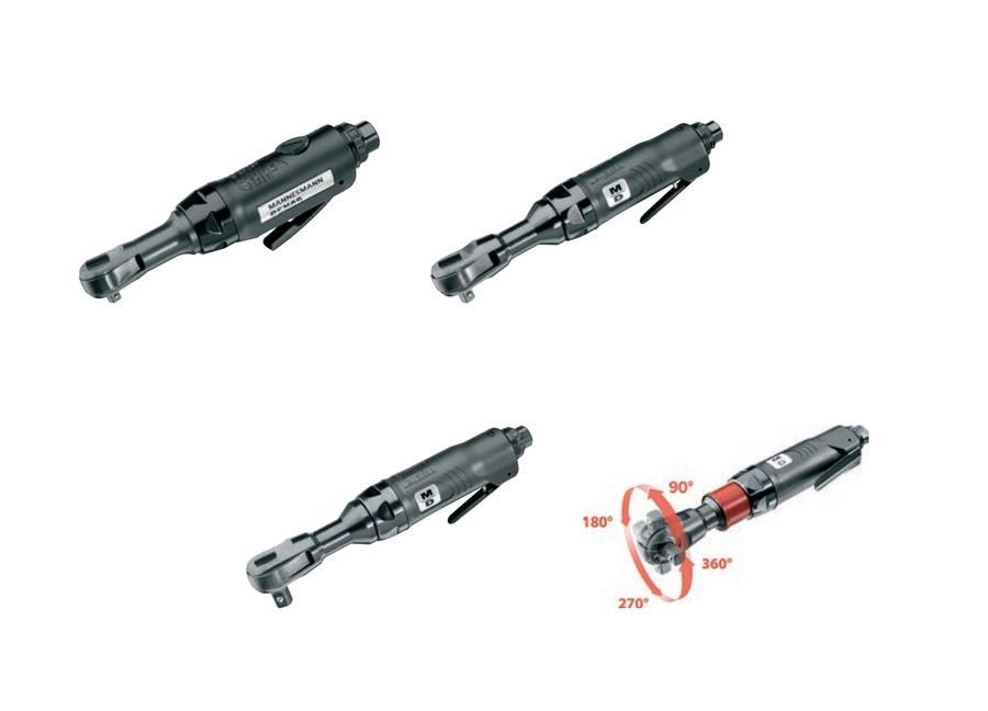 Pneumatische ratelsleutels MDR Blackline | DKMTools - DKM Tools