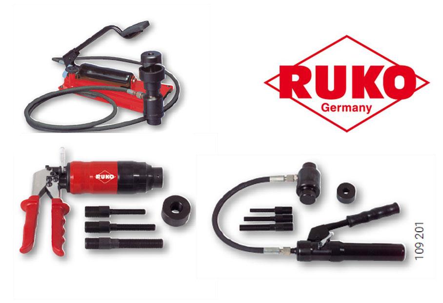 RUKO Hydraulische ponsen   DKMTools - DKM Tools