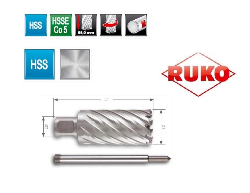Kernboor HSS. CBN geslepen | DKMTools - DKM Tools