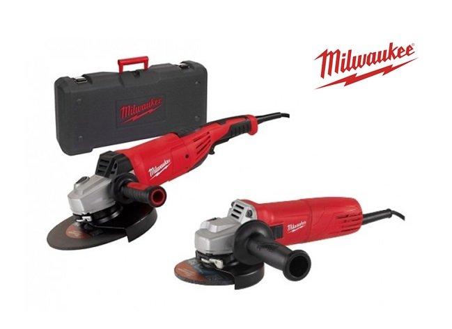 Milwaukee Set AG 22 230 E en AG 10 125 | DKMTools - DKM Tools