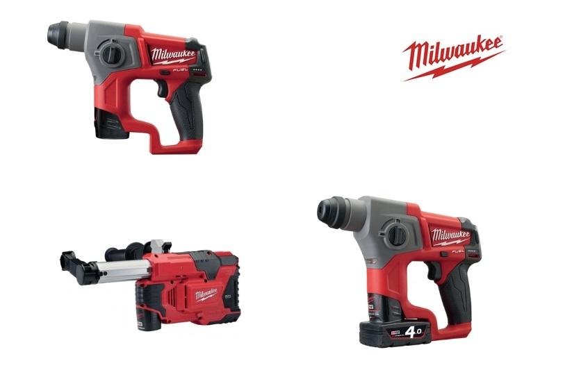Milwaukee Accu Boorhamer | DKMTools - DKM Tools