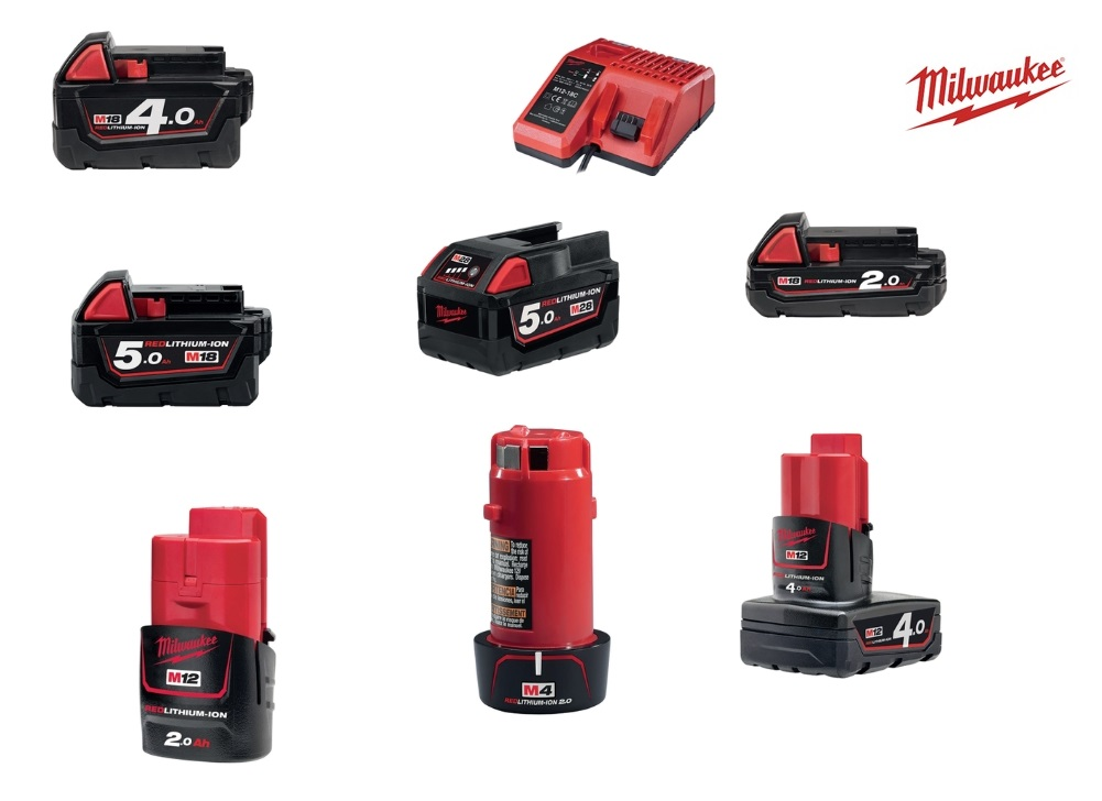 Milwaukee Accu en oplader | DKMTools - DKM Tools