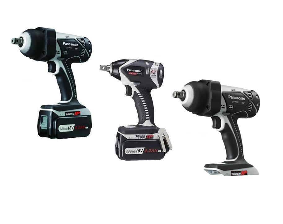 Panasonic Accu Slagmoeraanzetters | DKMTools - DKM Tools