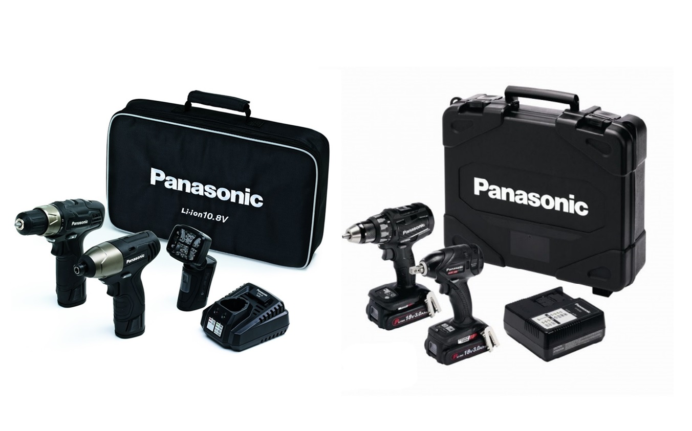 Panasonic Accu Sets | DKMTools - DKM Tools