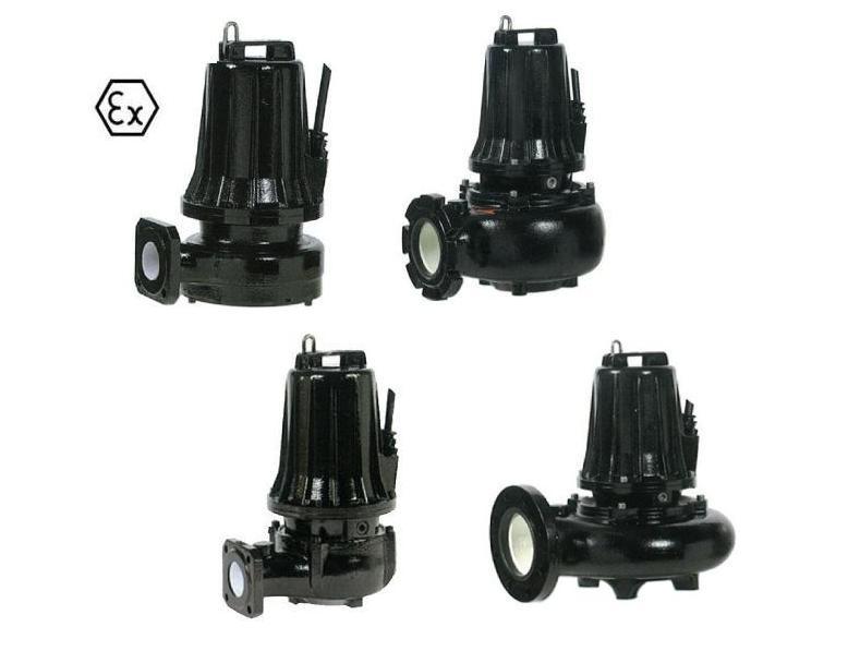 RVS Gietijzer dompelpompen Atex | DKMTools - DKM Tools