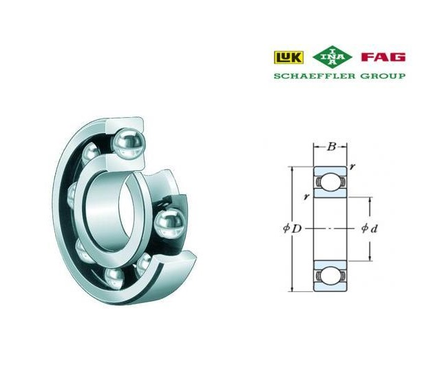 FAG 600 Groefkogellagers eenrijig   DKMTools - DKM Tools