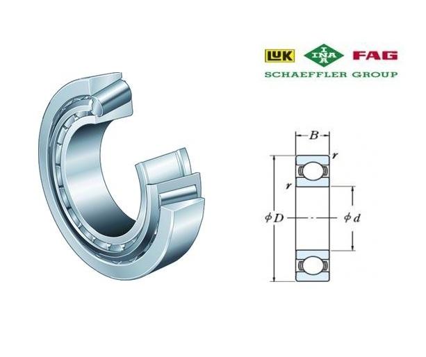 FAG 31300 Kegellagers | DKMTools - DKM Tools