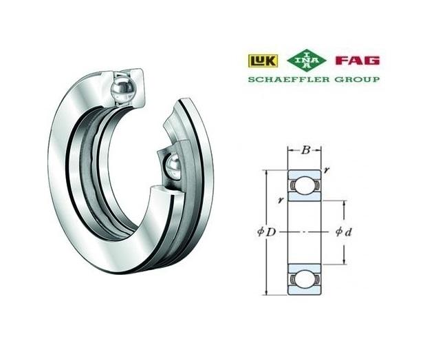 FAG 51100 Kogeltaatslagers | DKMTools - DKM Tools