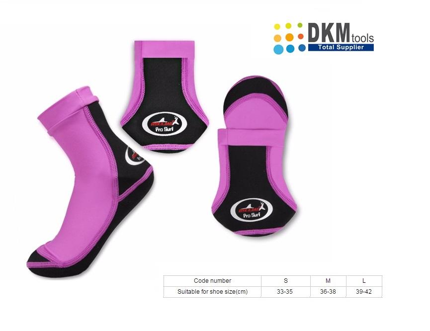 Beachsokken Paars zwart   DKMTools - DKM Tools