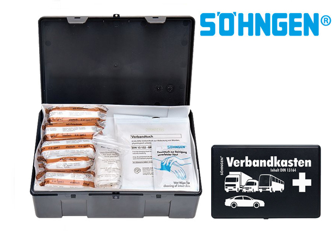 Sohngen auto EHBO kit DIN 13164   DKMTools - DKM Tools