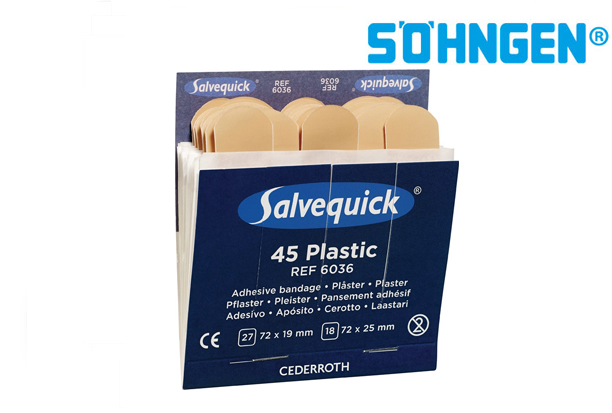 Sohngen Pleisterstrips Salvequick waterdicht | DKMTools - DKM Tools
