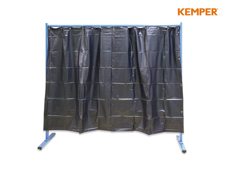 1 delige laswand met lasgordijn Kemper   DKMTools - DKM Tools
