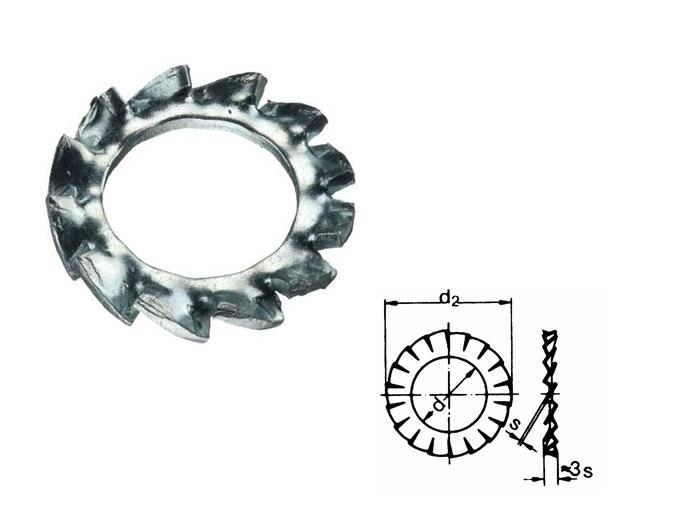 Tandveerring Din 6798 A2   DKMTools - DKM Tools