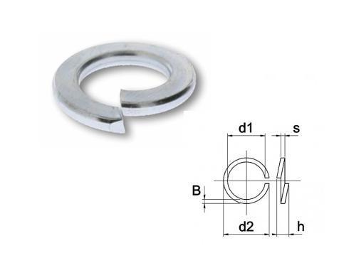 Veerring Din 127B EV | DKMTools - DKM Tools