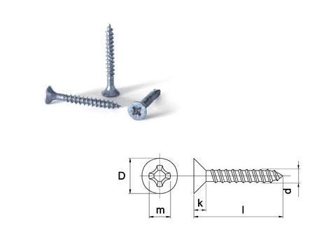 Spaanplaat schroef | DKMTools - DKM Tools