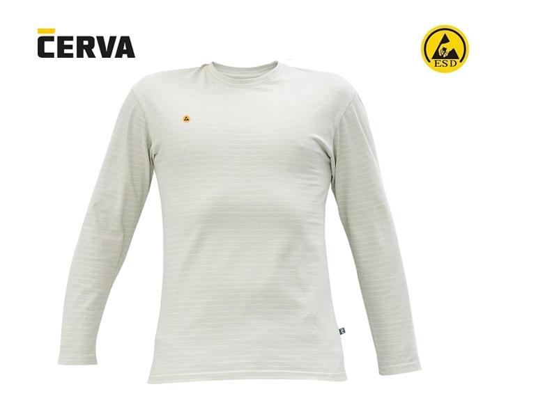 NOYO ESD LS T-shirt met lange mouw grijs | DKMTools - DKM Tools