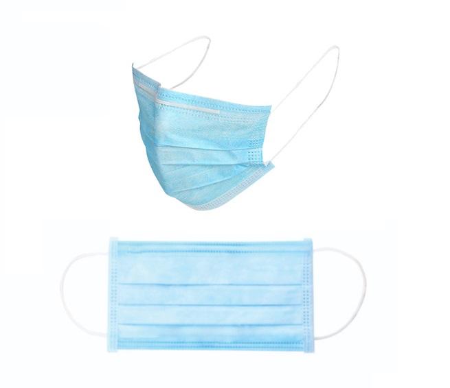Wegwerp mondmasker blauw – 3 laags | DKMTools - DKM Tools