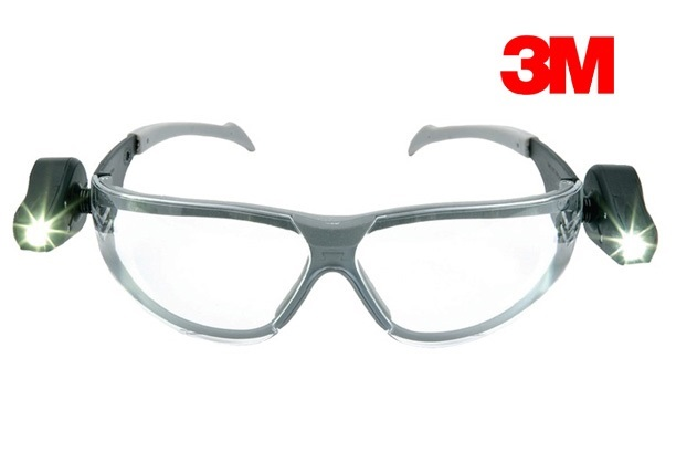 Veiligheidsbril LED light vision EN166 | DKMTools - DKM Tools
