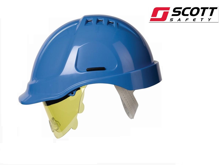 Helm Stijl 600 Hogedruk polyethyleen EN 397 Blauw | DKMTools - DKM Tools
