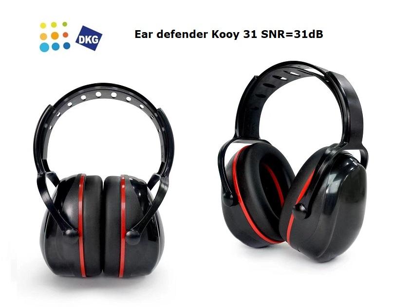Electronische Gehoorbescherming Geel   DKMTools - DKM Tools