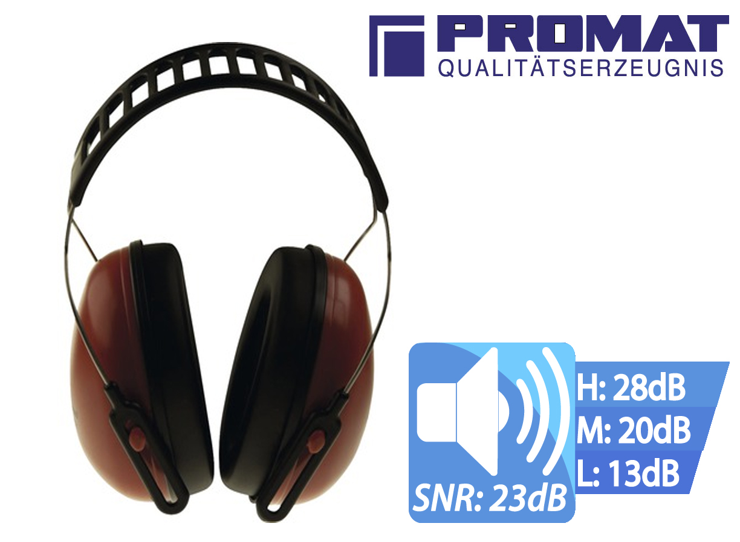 Oorbescherming Arton MET EN 352 1 SNR23 dB   DKMTools - DKM Tools