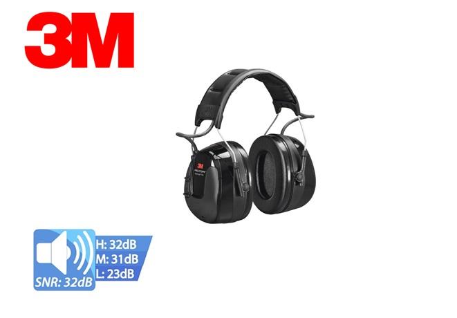 HRXP7A 01 Binaural hoofdband Headset Zwart   DKMTools - DKM Tools