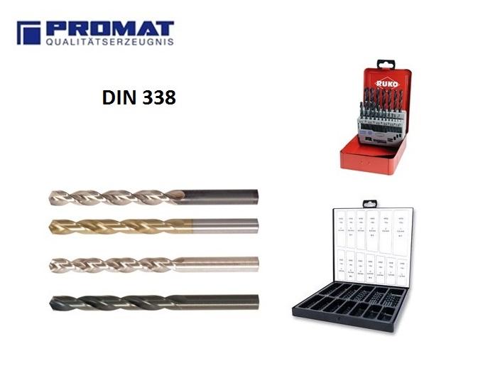 Spiraalboren DIN 338 | DKMTools - DKM Tools