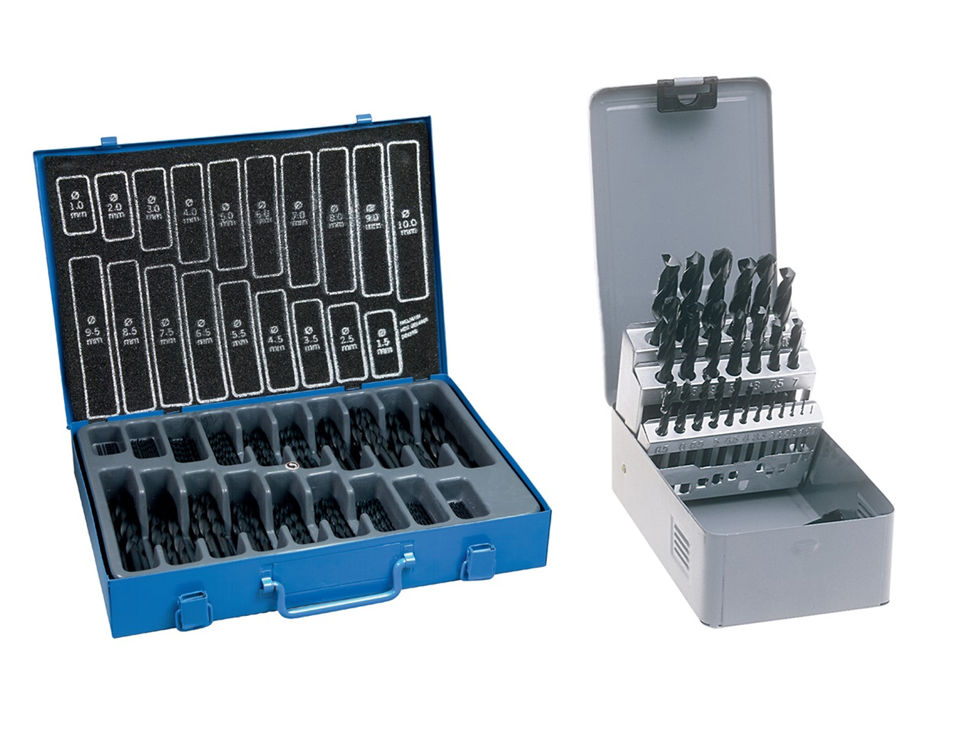Spiraalboor rolgewalst DIN338 type N sets | DKMTools - DKM Tools