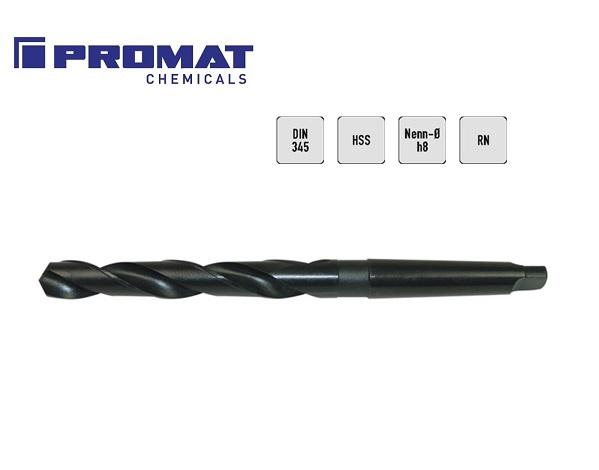 Spiraalboor DIN 345 N HSS konische schacht FORMAT | DKMTools - DKM Tools