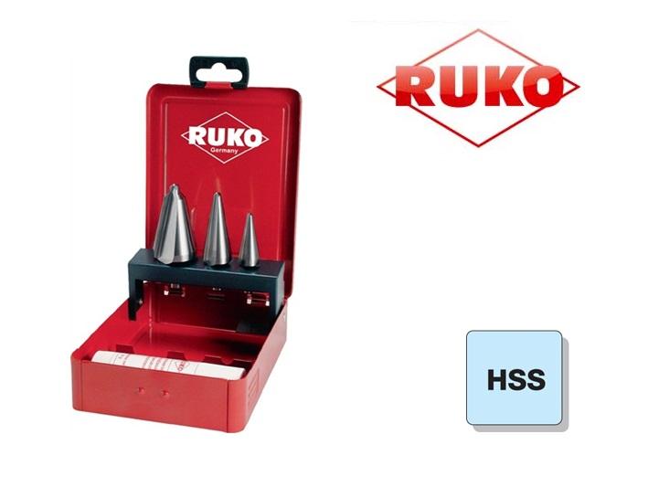 Conische Plaatboren Set HSS Ruko | DKMTools - DKM Tools