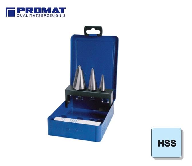 Conische Plaatboren Set HSS Promat | DKMTools - DKM Tools