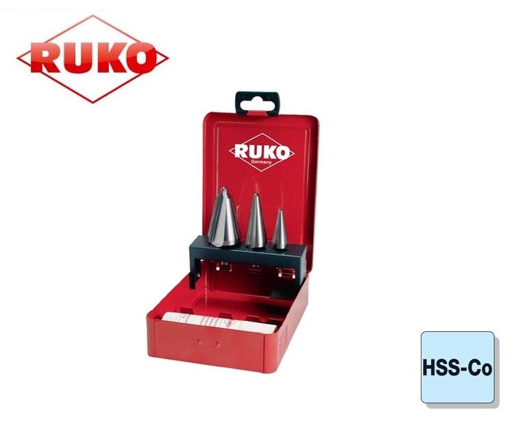Conische Plaatboren Set HSSE Co 5 Ruko | DKMTools - DKM Tools