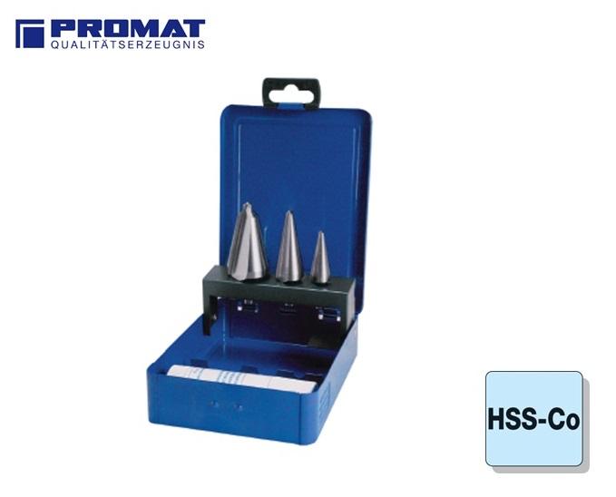 Conische Plaatboren Set HSSE Co 5 Promat | DKMTools - DKM Tools