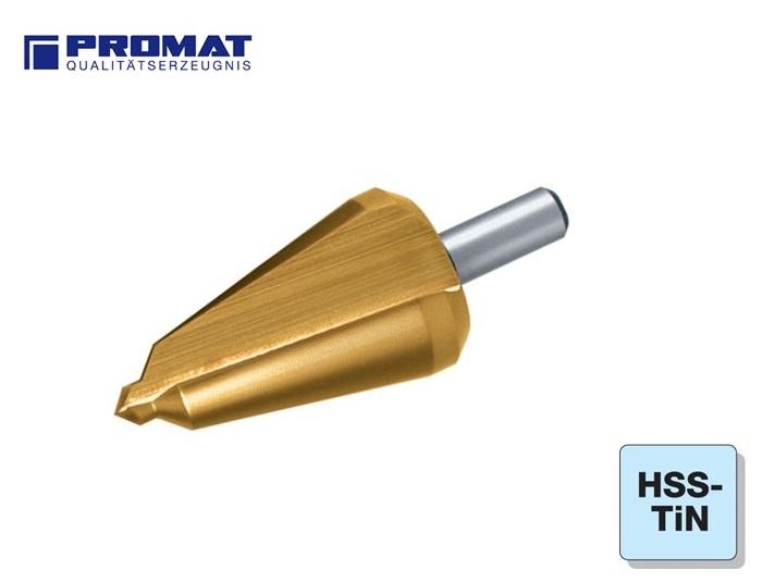 Conische Plaatboor HSS TiN Promat | DKMTools - DKM Tools