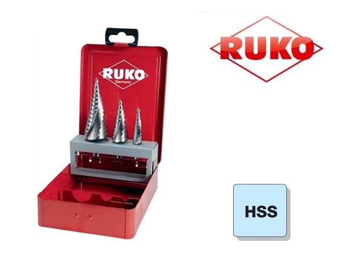 Trappenboorset HSS Ruko | DKMTools - DKM Tools