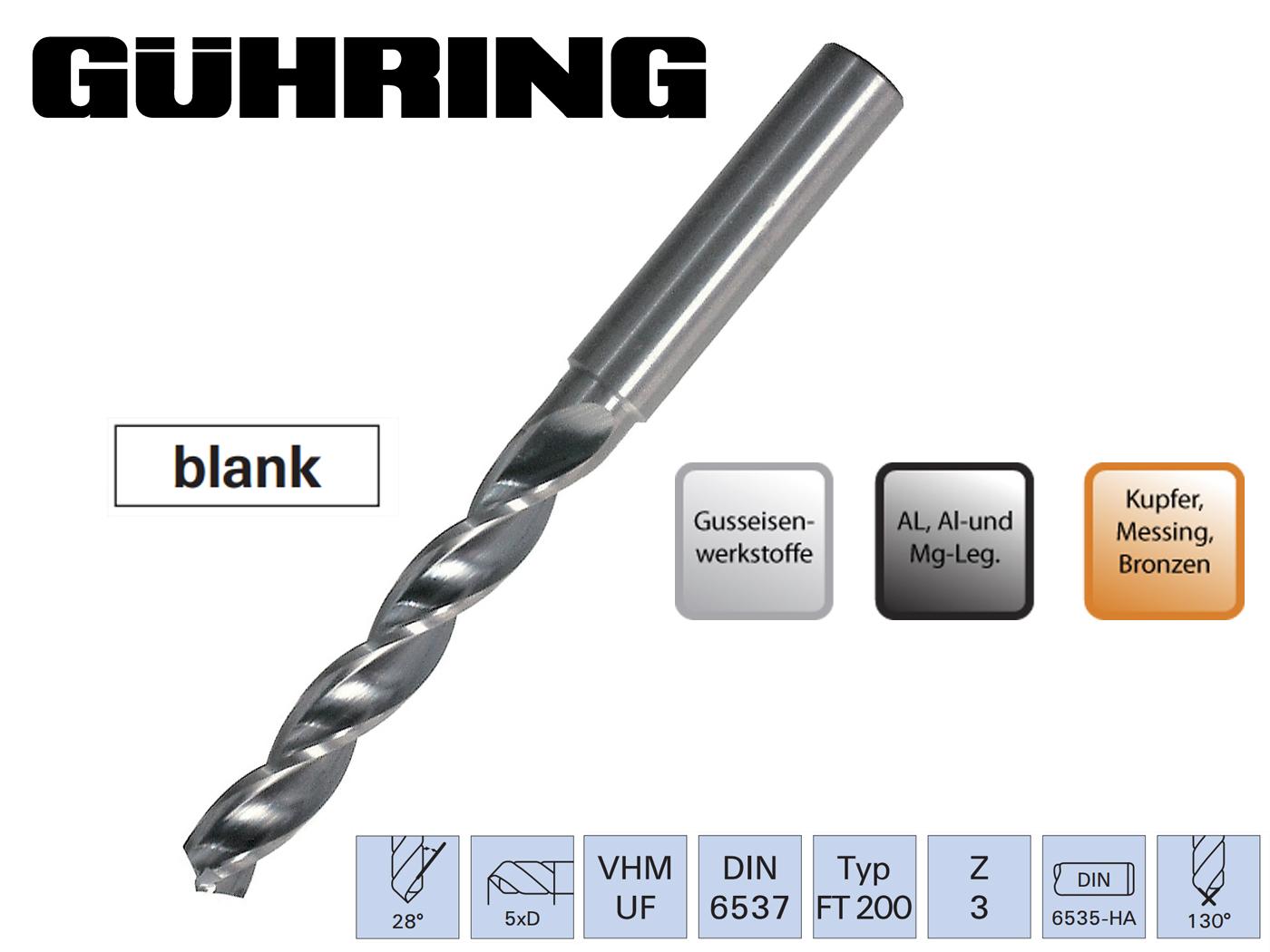 Superline Spiraalboor VHM Z3 5xD | DKMTools - DKM Tools