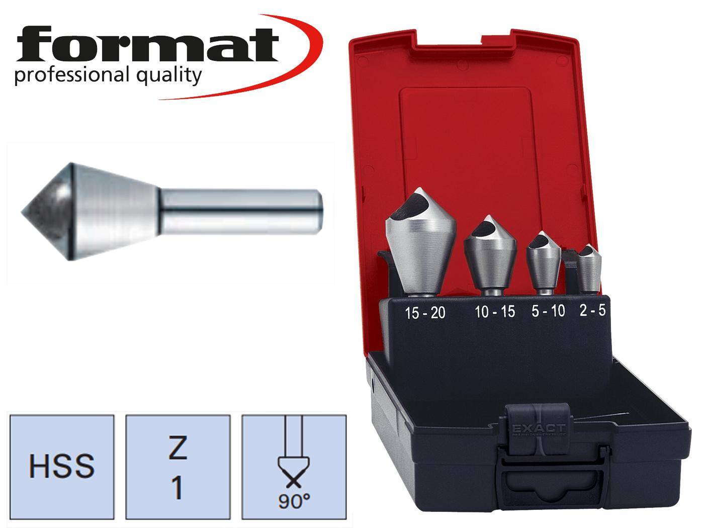 Verzinkboor Set schuin gat HSS 90G FORMAT   DKMTools - DKM Tools
