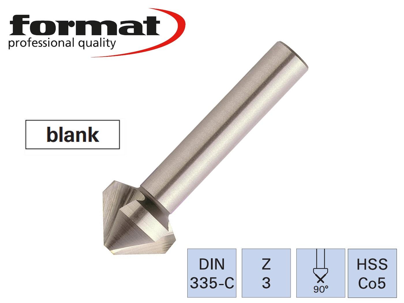Verzinkboor DIN 335 C HSSE Co5   DKMTools - DKM Tools
